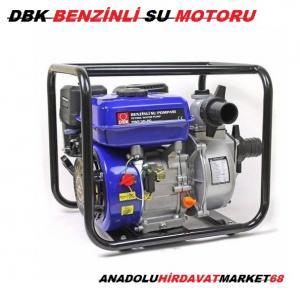 DBK BENZİNLİ SU ÇEKME MOTORU 7HP 3 LÜK GÜÇLÜ SU MOTORU