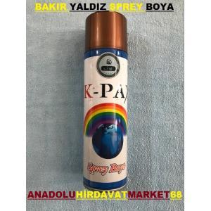 KPAX BAKIR YALDIZ SPREY BOYA 170 ML BAKIR RENK SPREY BOYA