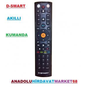 DSMART AKILLI KUMANDA D-SMART TV KUMANDASI 5 FARKLI TV ÇALIŞTIRIR