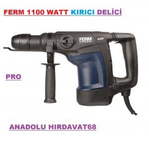 FERM KIRICI DELİCİ MATKAP 1100 WATT HDM1043P GÜÇLÜ KIRICI MATKAP