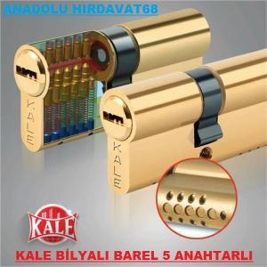 KALE BAREL 164 BNE 90 MM SARI BİLYALI BAREL KİLİT GÖBEĞİ BARELİ