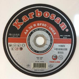 KARBOSAN 180 MM İNOX METAL KESİCİ TAŞ 180*1,9 MM