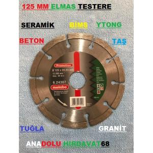 METABO 125MM ELMAS TESTERE BETON SERAMİK GRANİT TAŞ BİMS YTONG