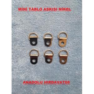 MİNİ TABLO ASKILIĞI TABLO VE RESİM ÇERÇEVE ASKI APARATI 10 ADET