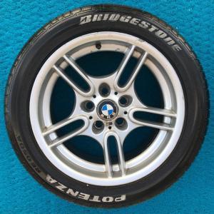 BMW E39 M5 JANT LASTİK BMW 5 SERİ ORJİNAL JANT LASTİK 4 ADET
