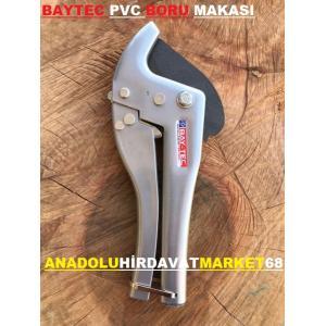 BAYTEK PPRC PLASTİK BORU KESME MAKASI 42 MM PVC BORU KESME MAKASI