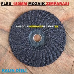 FLEX 180MM KALIN DİŞ MOZAİK SİLME TAŞI MOZAİK SİLME ZIMPARASI C16
