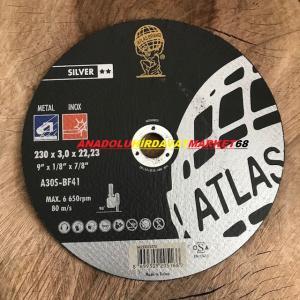 ATLAS 230MM METAL KESİCİ TAŞ METAL DEMİR KESME TAŞI 2ADET