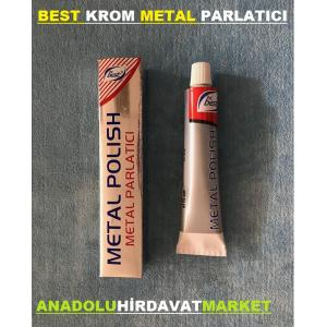 BEST METAL PARLATICI KROM METAL İNOX PARLATICI PASTA POLİŞ 50GR